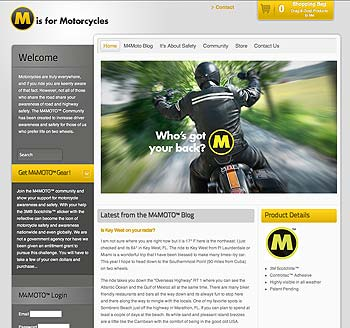 M is for Motorcycles Website